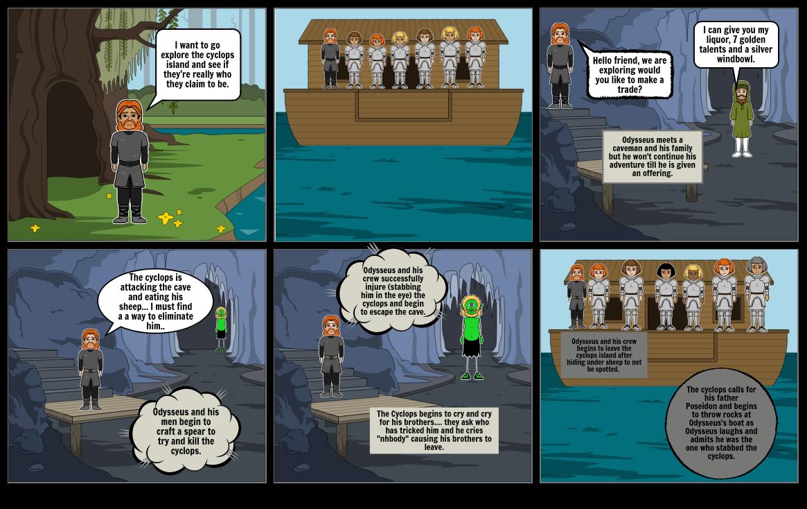 Odysseus Storyboard