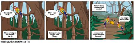 Marvin the Curious parrot part 2
