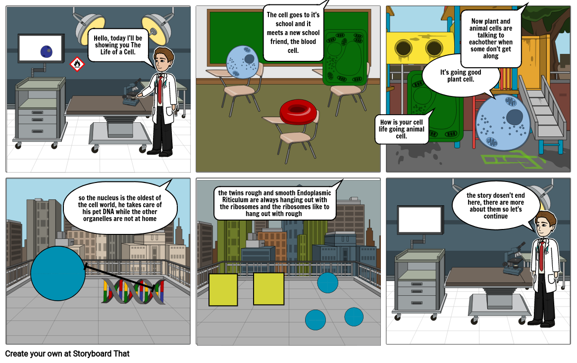 The Life of a Cell (Pages 1-3)