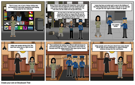 Lanoy's Bill of Rights Storyboard P1