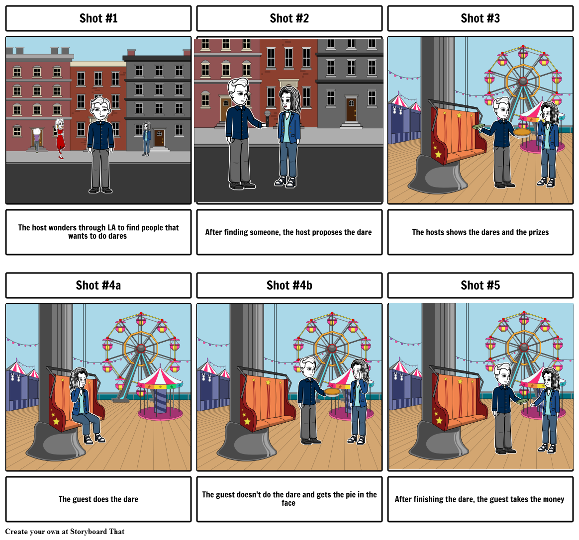 Story Board - Dare or Pie Storyboard by lapostol4881