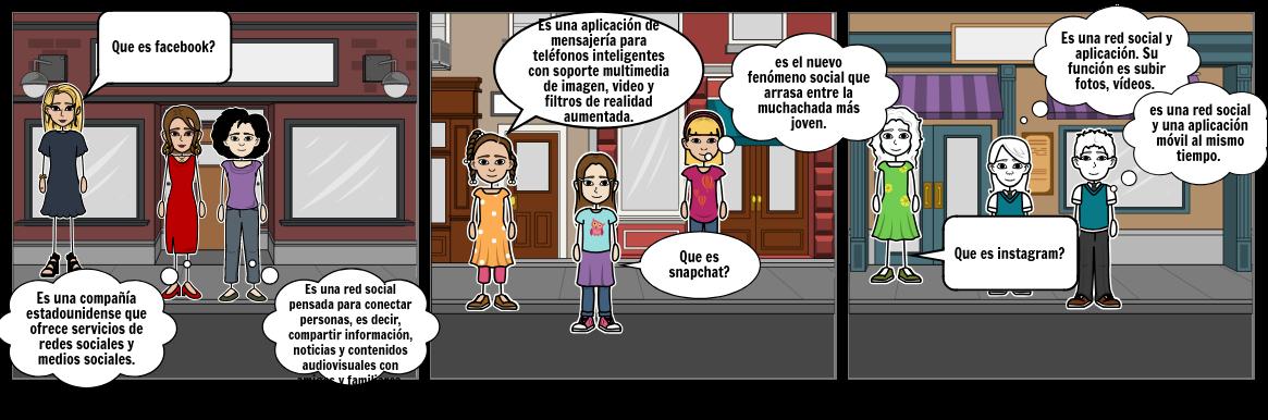 HISTORIETA 2 DE REDES SOCIALES