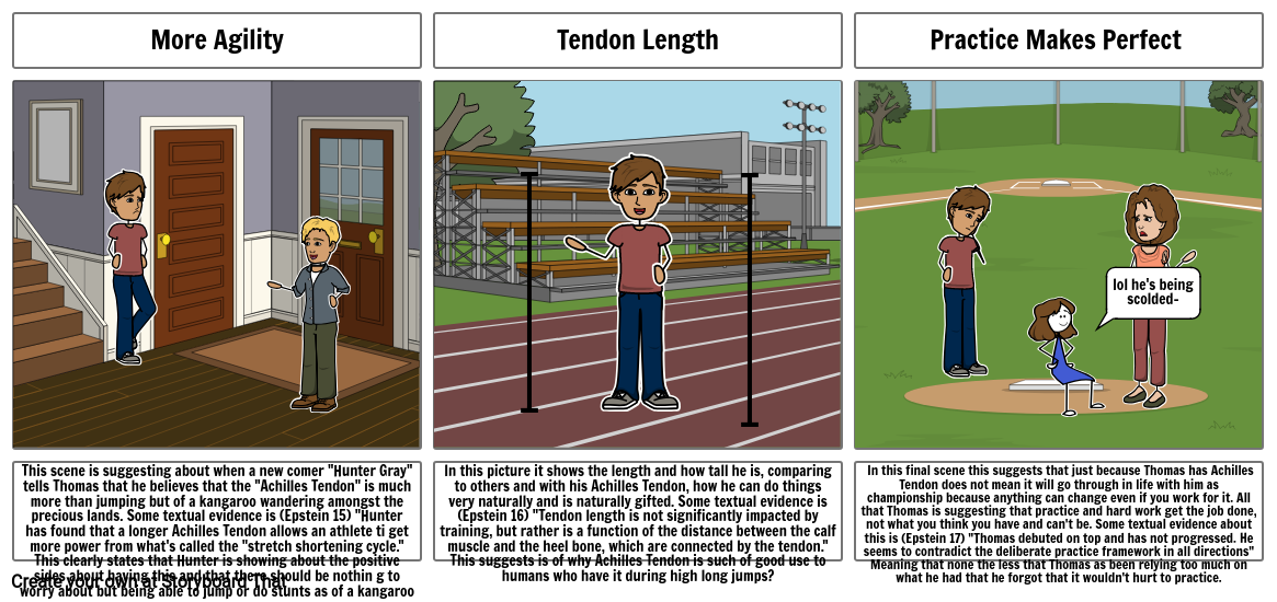 """Part 2 """"The Sports Gene"""" By Lauren Tan and Merilyn"""