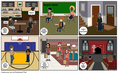 French 3c Storyboard#2