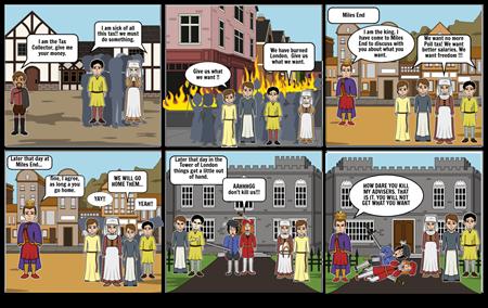 King John - peasants revolt! (Lily Conlon 7.3)