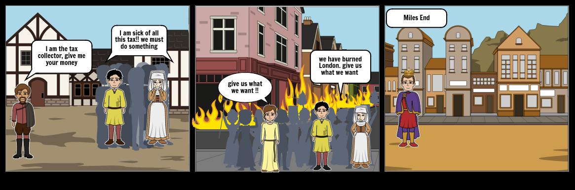my medieval comic strip ... king John
