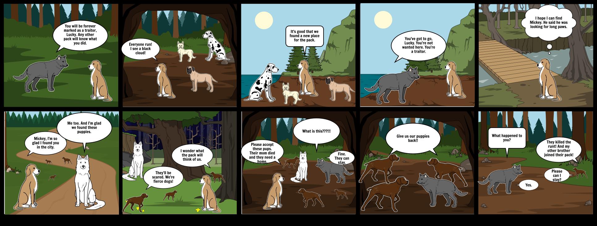 Chayton's Comic Strip