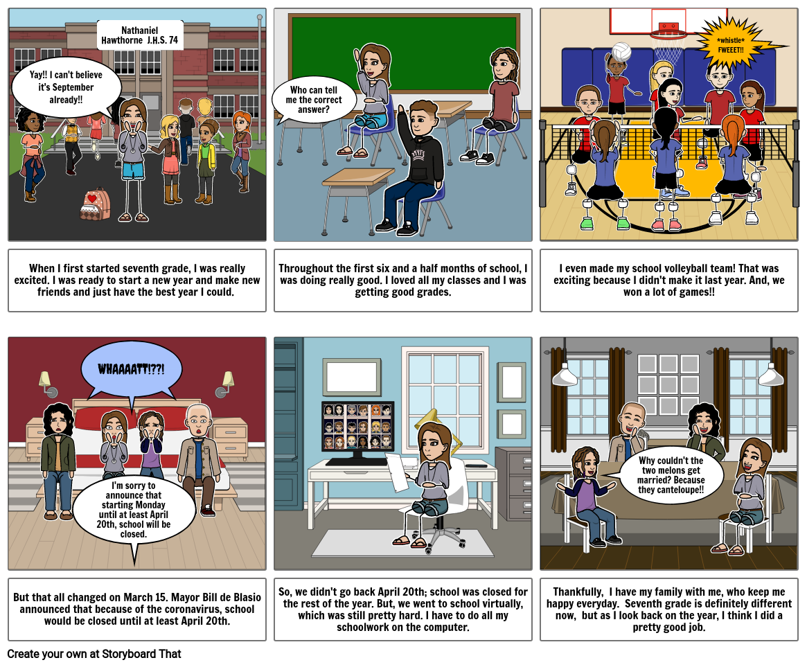 Comic End of the Year Reflection