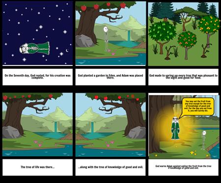 Genesis 2 Storyboard