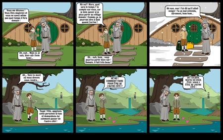 Gandalf et le Hobbit