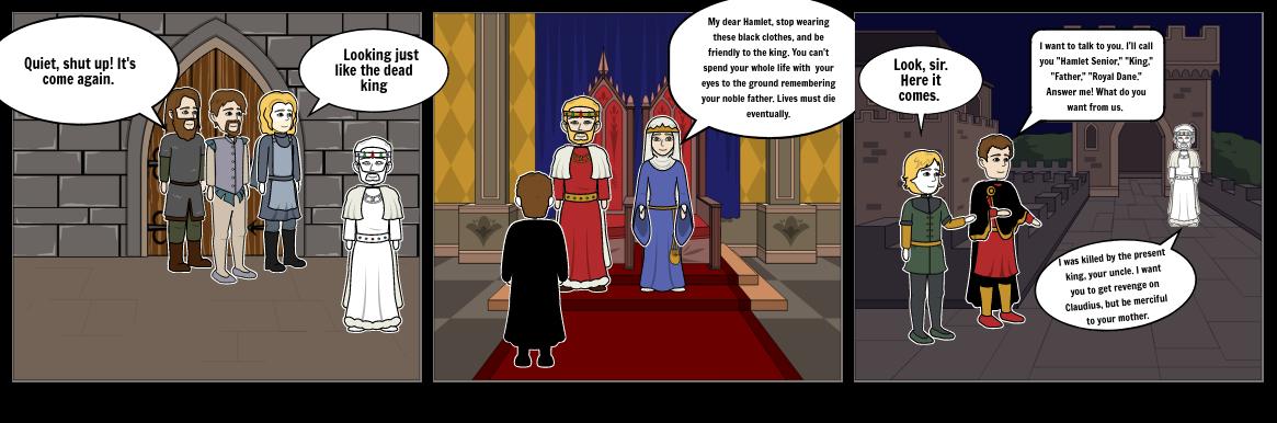 Hamlet: Act One