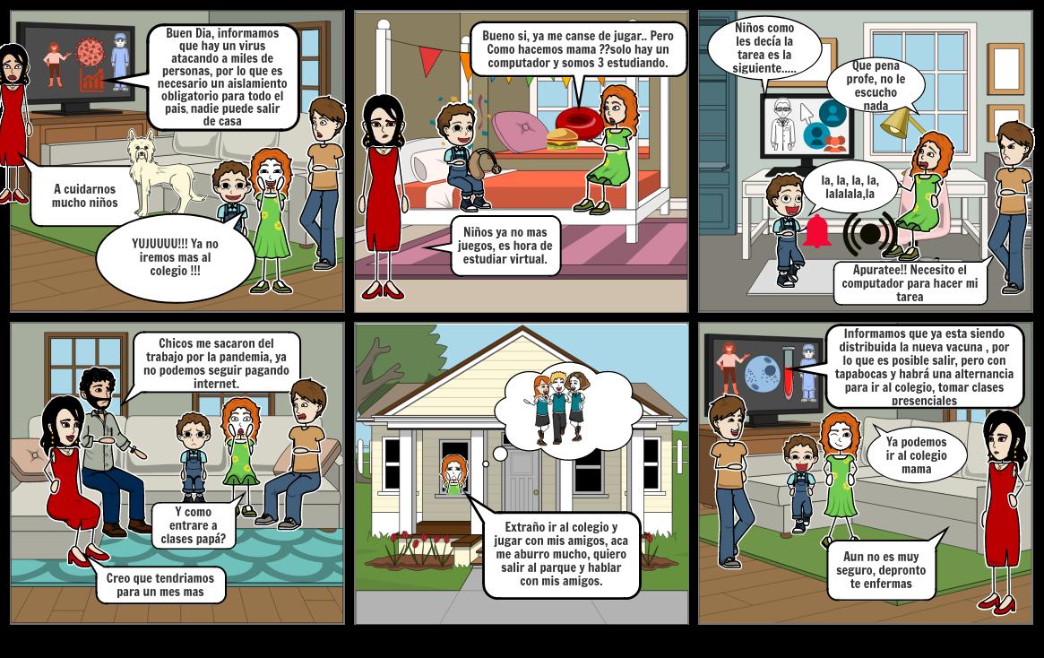 Comic alternancia Carol Parra 5D