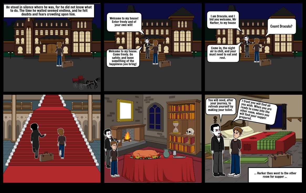 Meeting of Dracula
