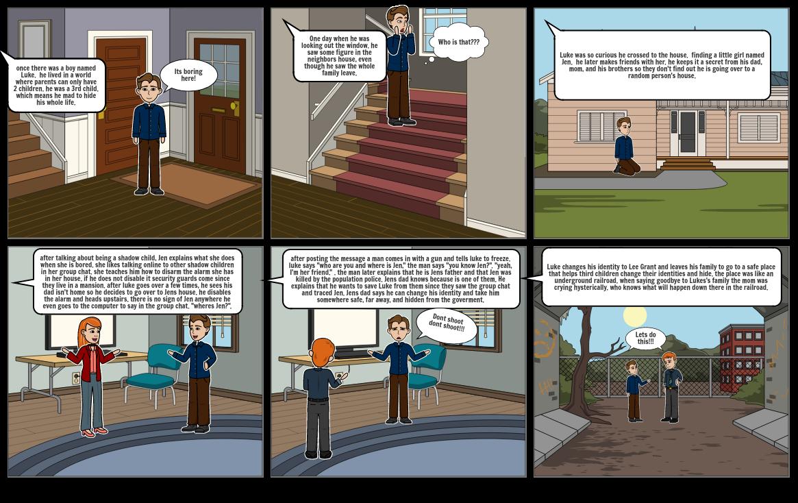 among the hidden comic summary