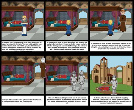 medicine storyboard humanites