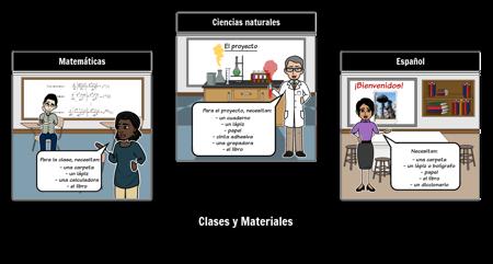 Classroom: Materials & Classes