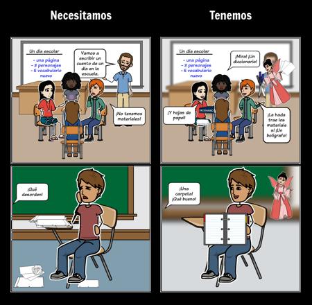 Classroom: Materials Vocabulary