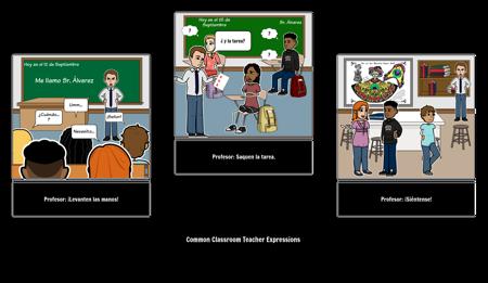 Classroom: Teacher Expressions