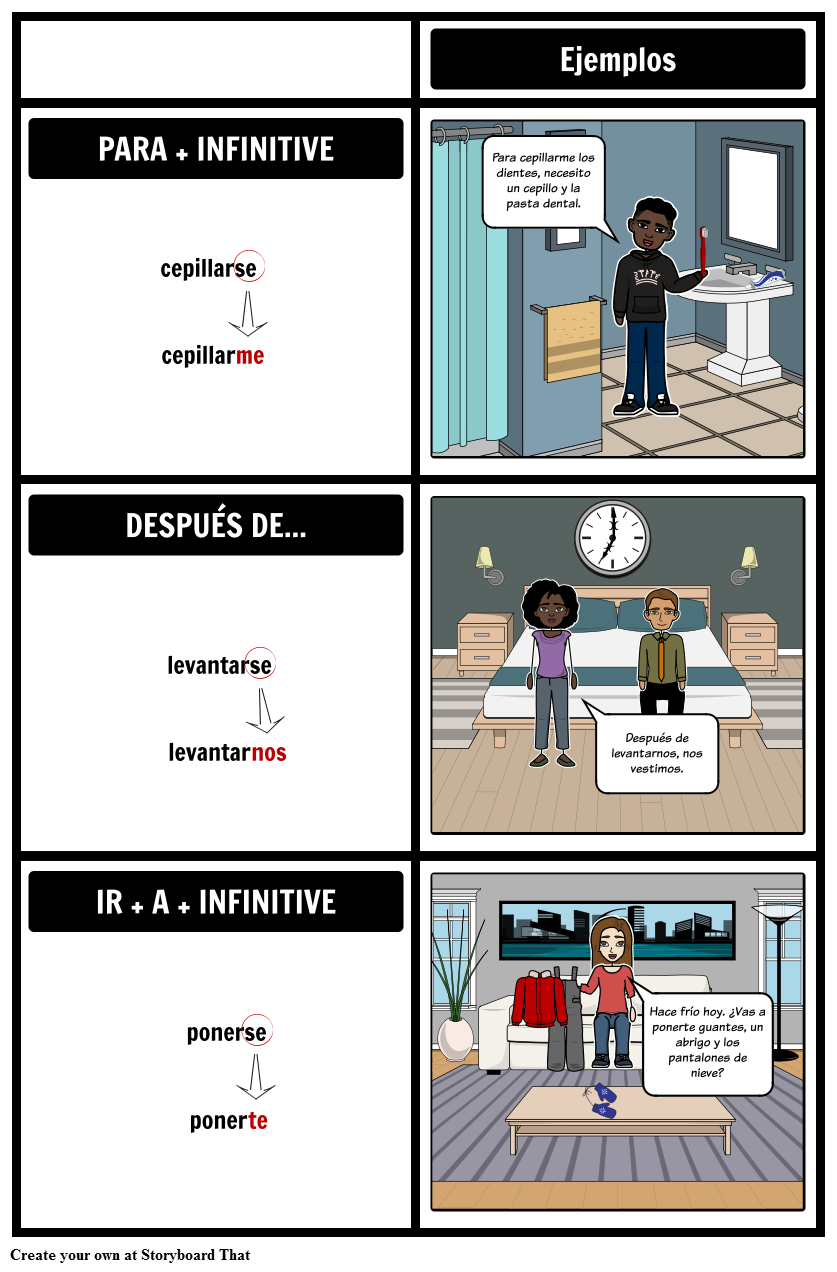 Spanish Reflexive Verbs Practice Spanish Verb Practice Lesson Plan