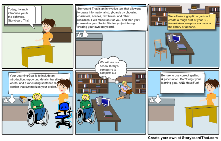 Mrs. M.'s Storyboard