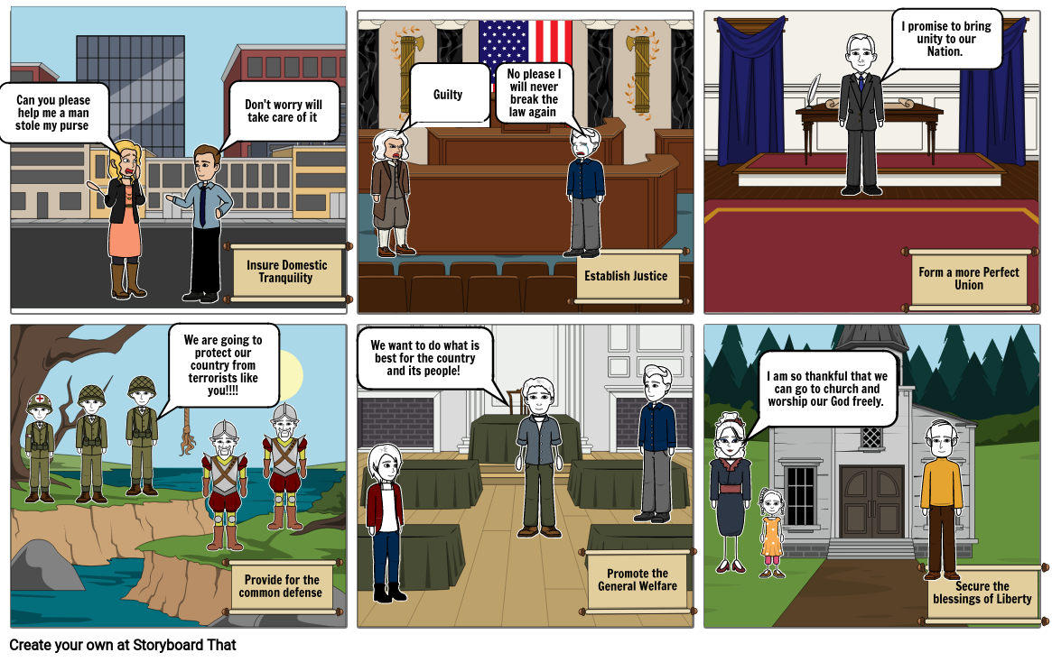 Preamble StoryBoard