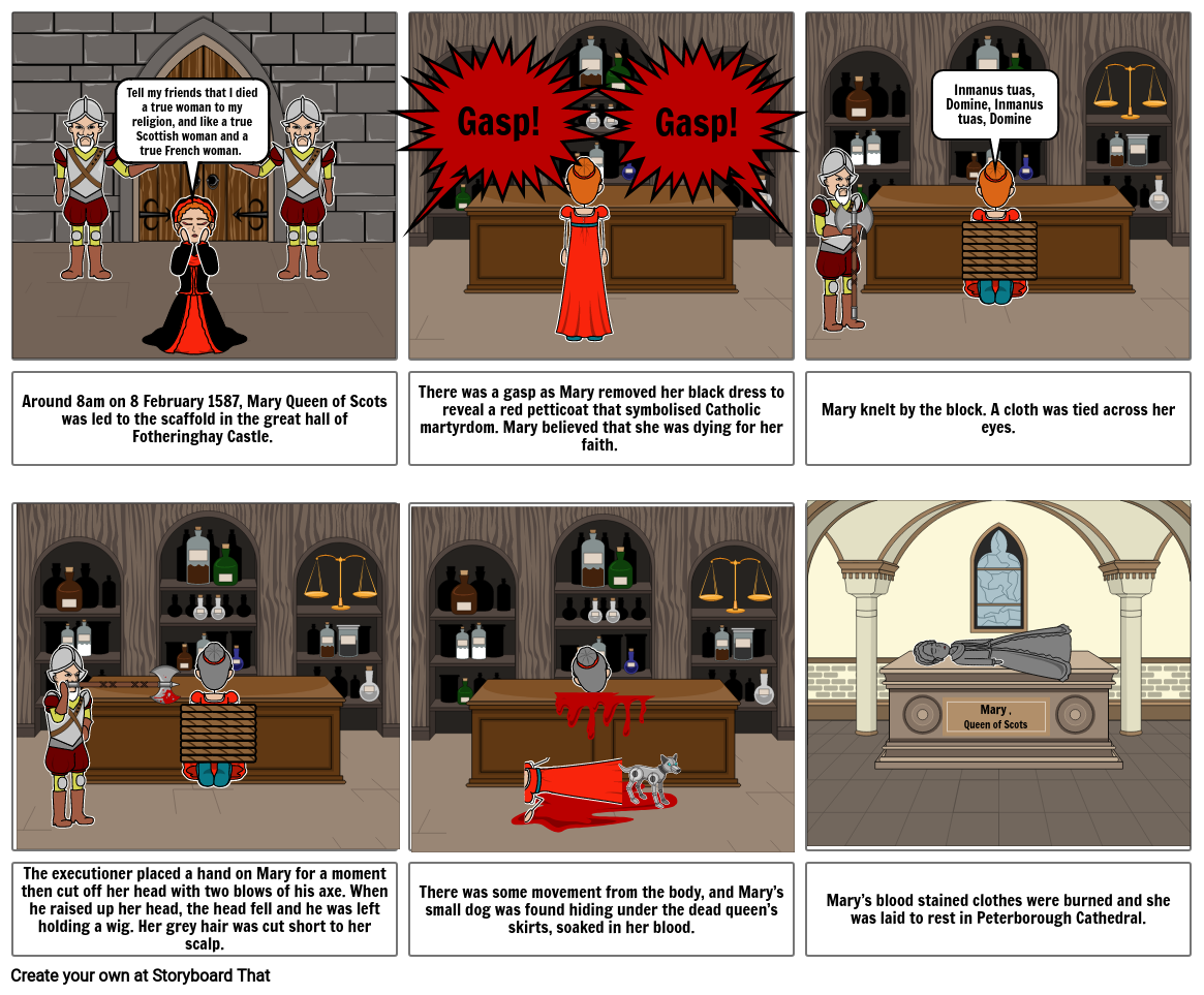 Mary Queen of Scots Execution