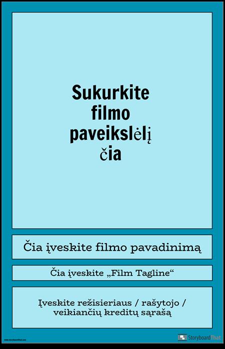 1 Filmo Plakatas