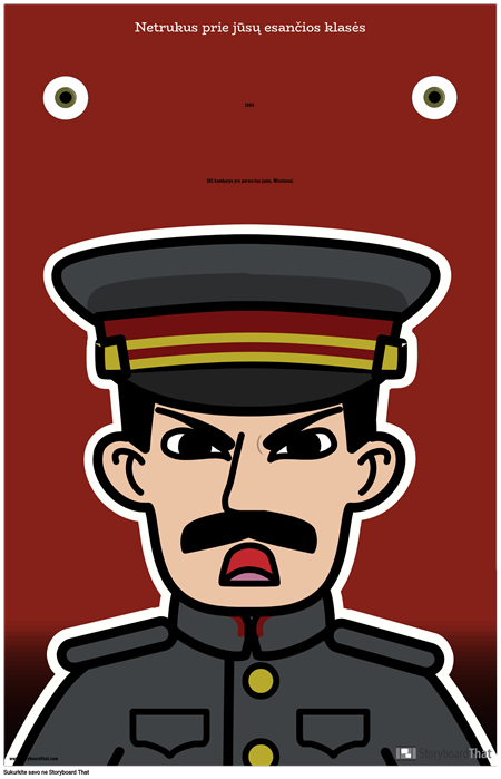 1984 m. ELA plakatas