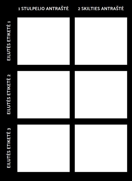 3x2 Grafiko Šablonas