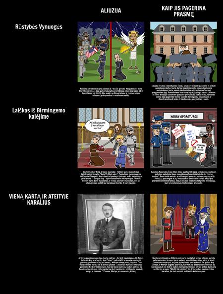 Aliuzijos Pavyzdžiai