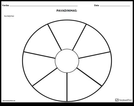 Apskritimo Diagrama - 9
