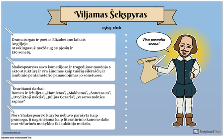 Biography Poster Example