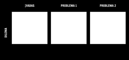 Dilema Šablonas Tinklelis