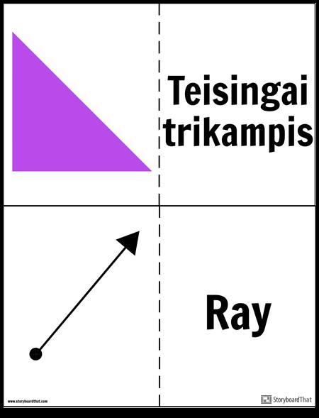 Geometrijos Kortelės