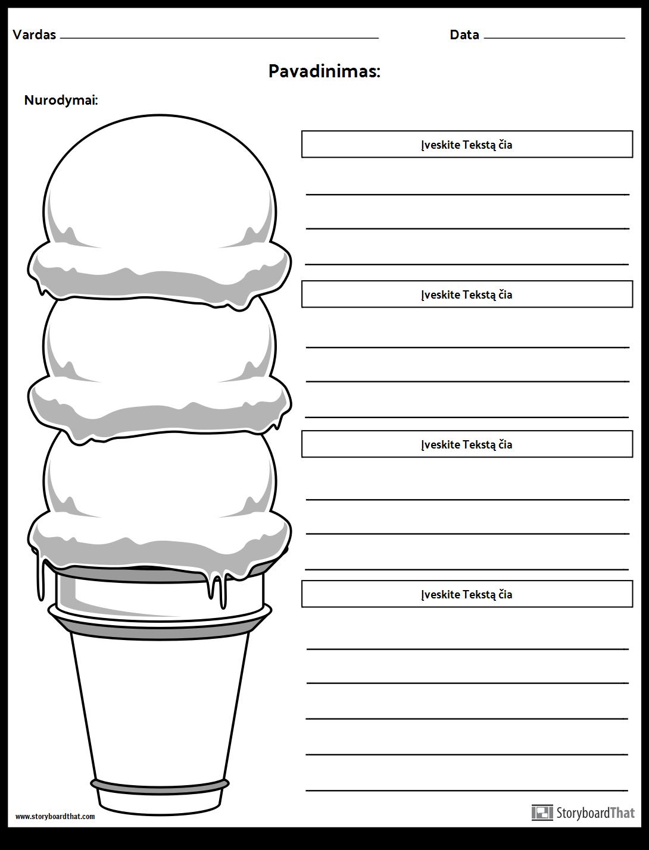 Ice Cream Cone Punktas