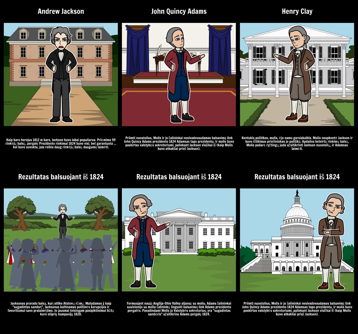 Iš 1824 rinkimai: sugadintas Sandėris