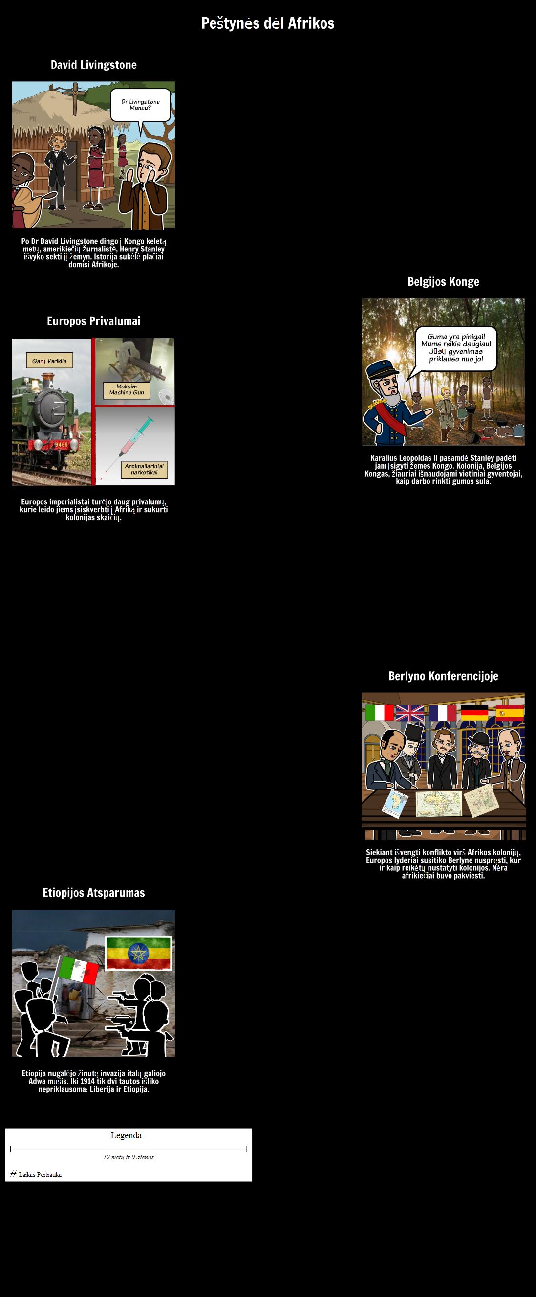 Istorija Imperializmo - Peštynės dėl Afrikos