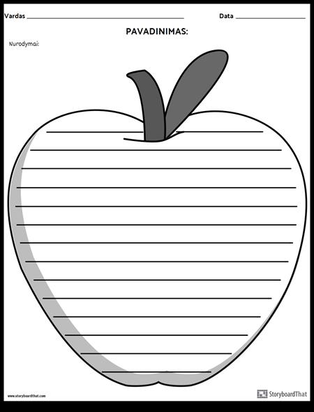 """Kūrybinis Rašymas - """"Apple"""""""