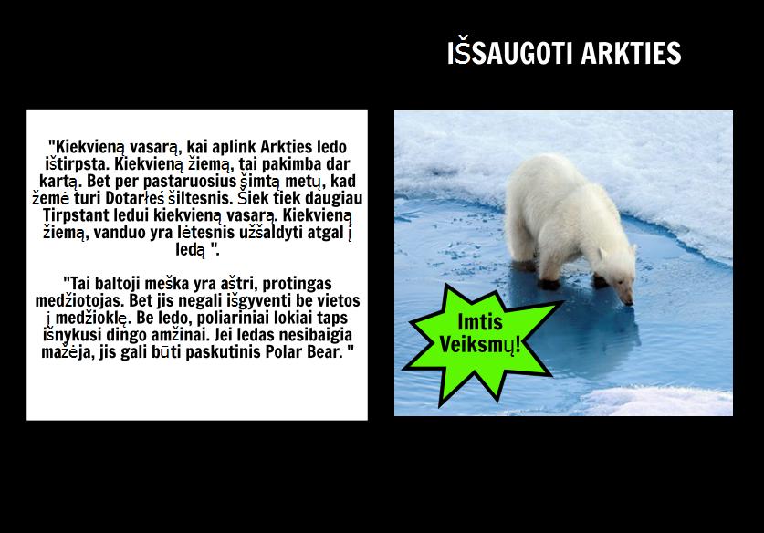 "Kur Polar Bears Live? ""PSA"
