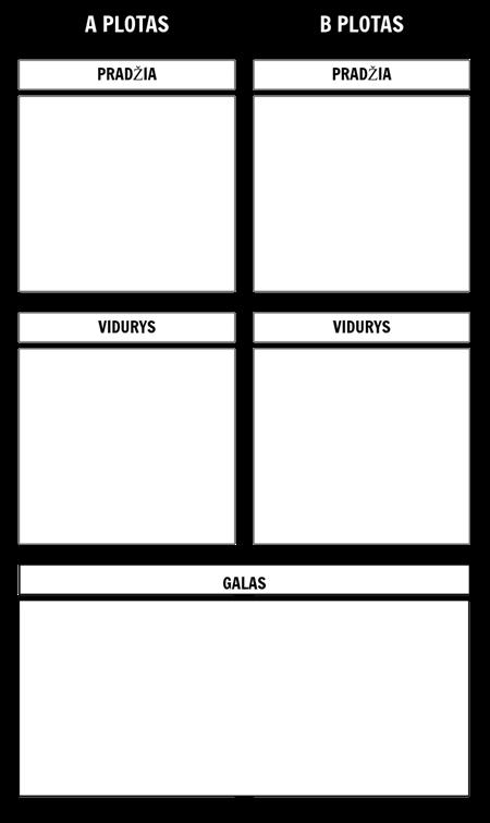 Paralelinės Istorijos 2 Šablonas