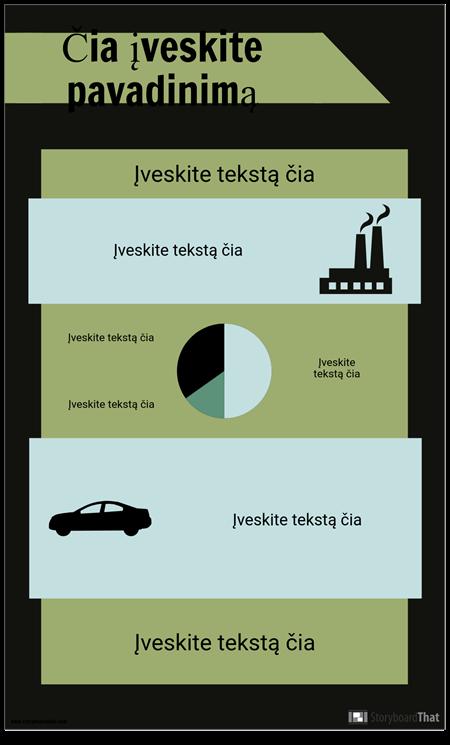 PSA Infografijos Šablonas