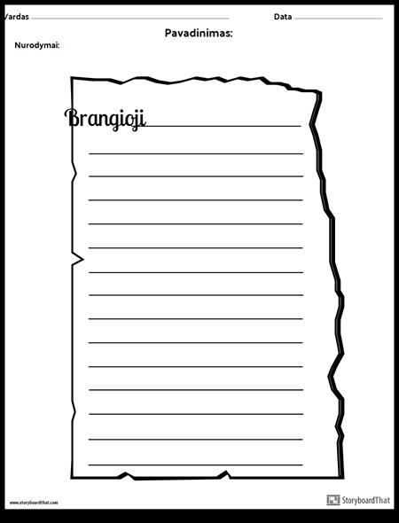 Senas Laiškas