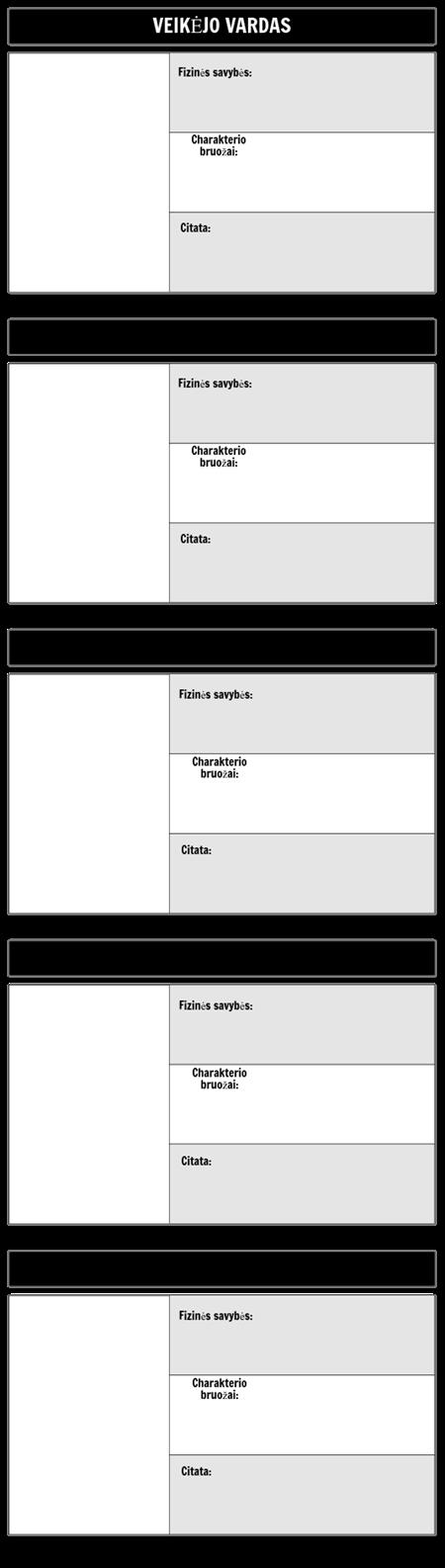 Simbolių žemėlapio šablonas 16x9