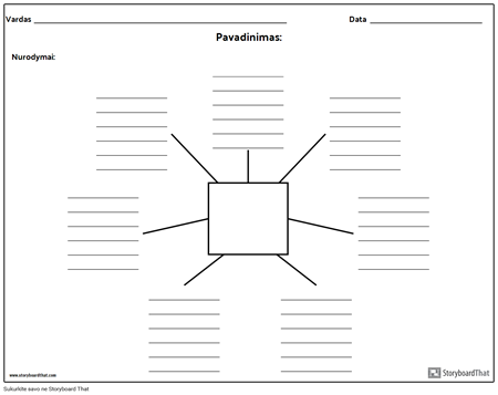 Spider Map su linijomis - 7