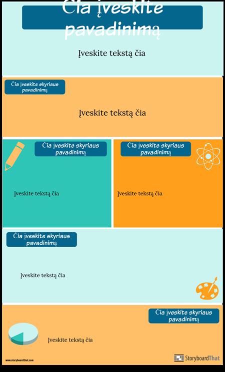 Strategijos Infografijos Šablonas
