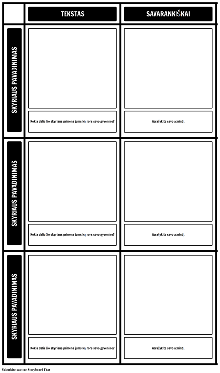 Tekstas Savivaldos Grid Šablonas