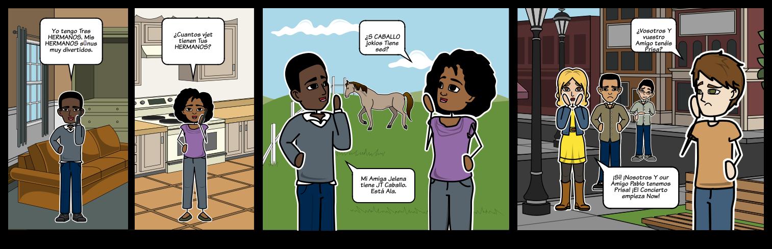 TENER su savininkiškas būdvardžių - Gramatika kontekste