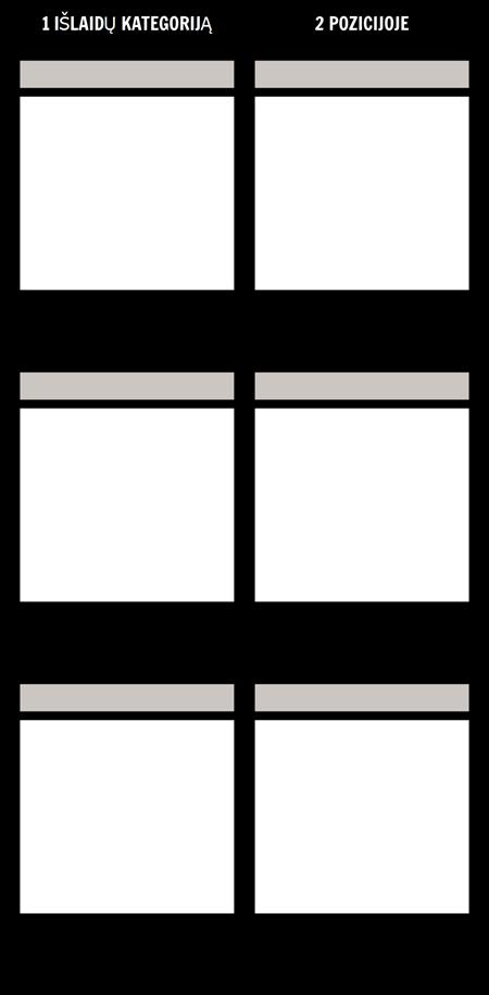 Tuščias Palyginimas, T-diagrama
