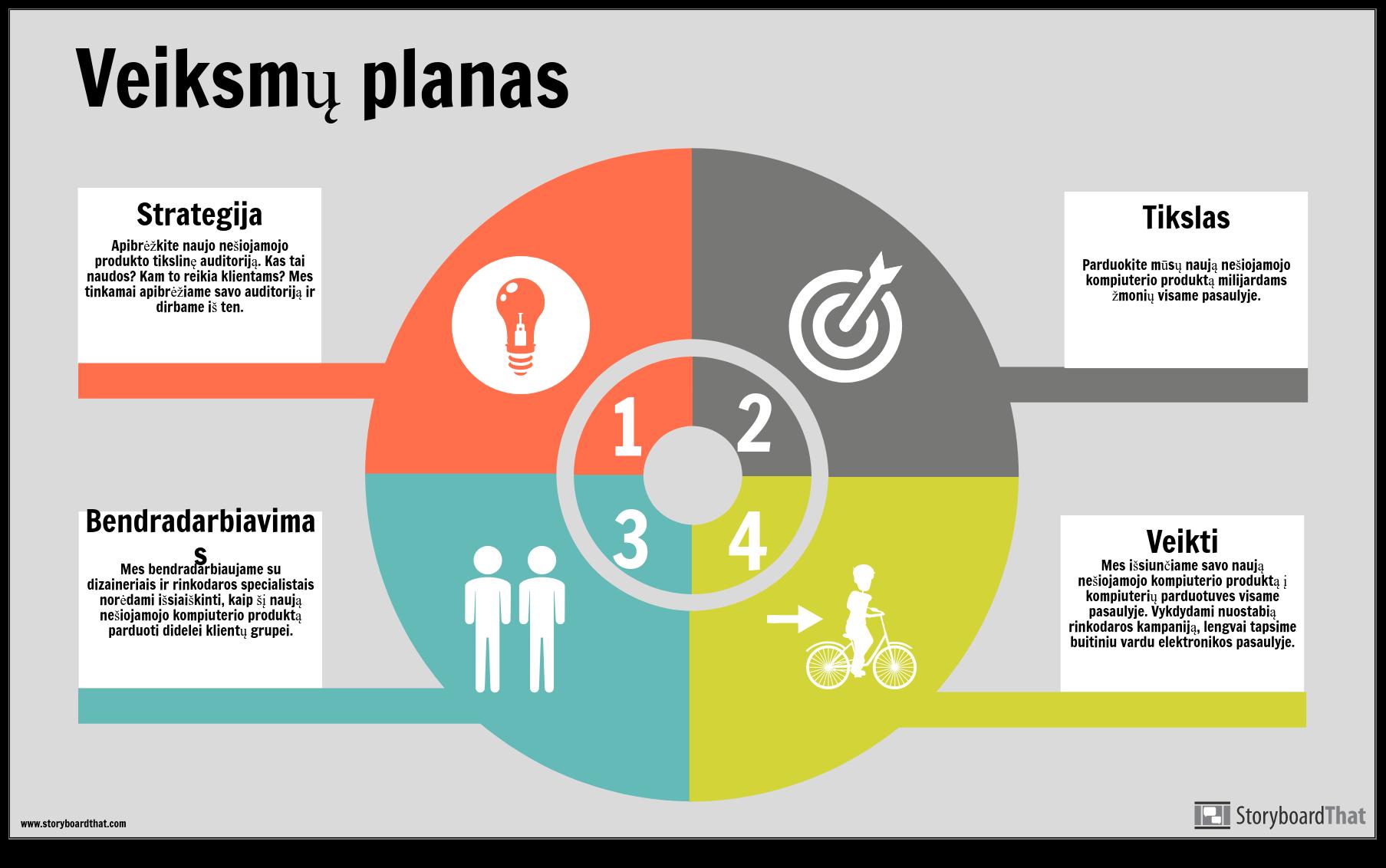 Veiksmų Plano Informacijos Pavyzdys