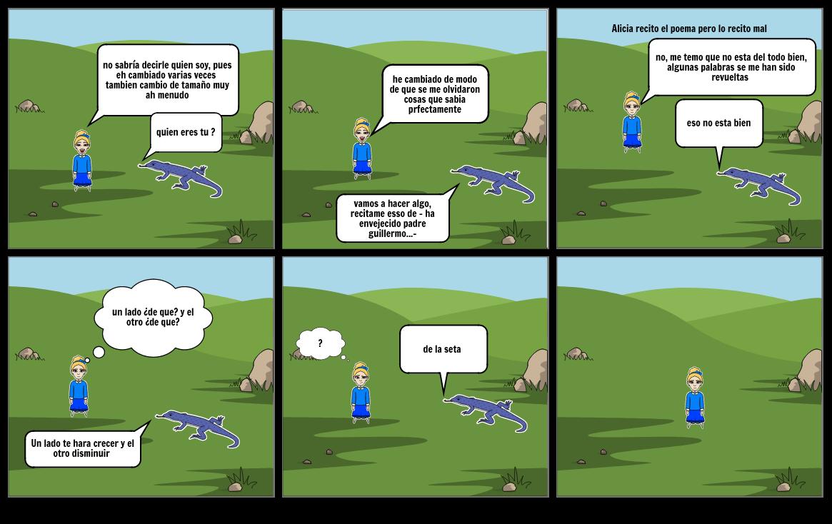 Consejos de una oruga